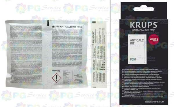 Krups 2 packets descaler + test water hardness coffee machine Dolce Gusto