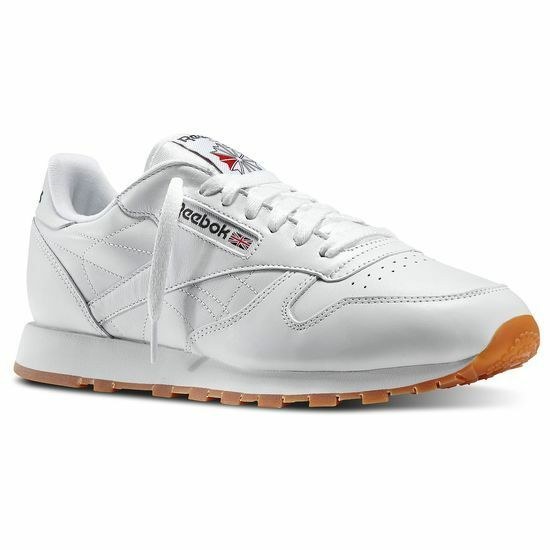 REEBOK CLASSIC LEATHER White Gum 49797 MENS CLASSIC RUNNING SHOES