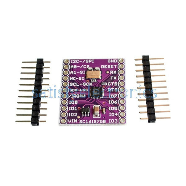 SC16IS750 CJMCU-750 Single UART w I2C-BusSPI Interface For Industrial Control