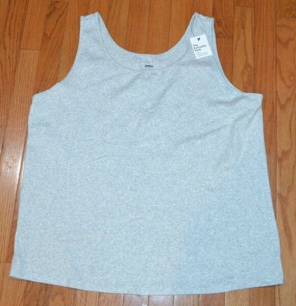 Sonoma The Everyday Tank Top Plus Size Sleeveless Top Gray Dark Moonbeam Heather