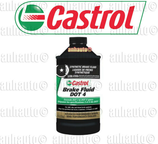 1x -12oz Castrol Dot 4 Brake Fluid