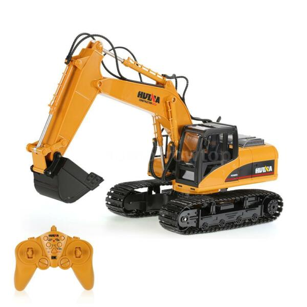 2.4GHz 15CH Engineering Excavator 1/12 RC Car Toy Construction Truck C3J3