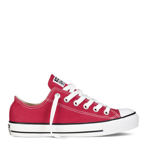 CONVERSE All Star RED LOW Top Shoes UNISEX Canvas Sneakers (M9696) (W/O BOX)
