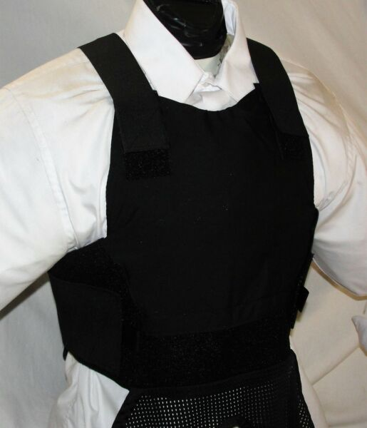 New Small Carrier IIIA Concealable Body Armor BulletProof Vest $168.00