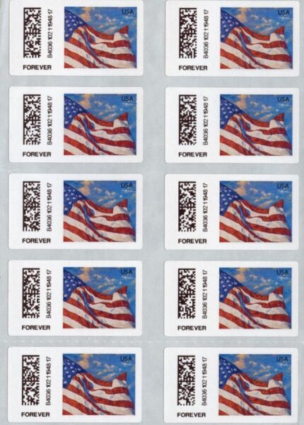 100 USPS FOREVER Stamps. CHEAP POSTAGE!