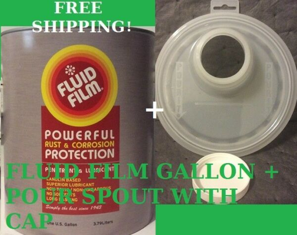 FLUID FILM GALLON POUR SPOUT WITH CAP ONLY $43.89 FREE SHIPPING