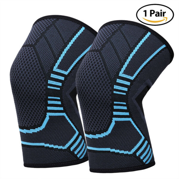 Knee Sleeve Compression Brace Support For Women Men Sport Joint Pain Arthritis