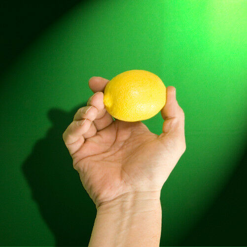 LATEX PRODUCTION LEMON Hollow Magic Trick Rubber Magician Fake Appearing Silk To $14.59
