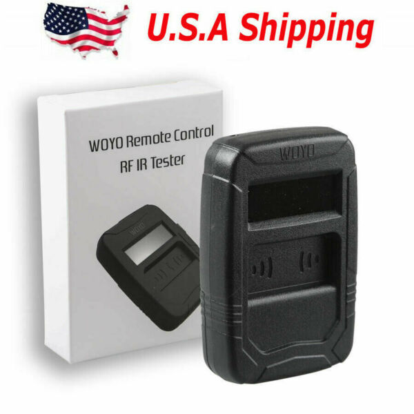 USA Ship WOYO Remote Control Tester Car IR Infrared Auto key Frequency Tester