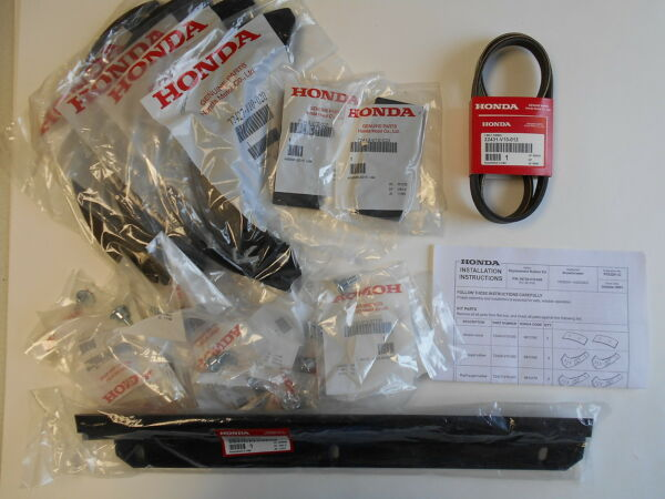 Honda HS520 Snow Blower Paddle Scraper amp; Belt Set ORIGINAL EQUIPMENT SNOWKIT8