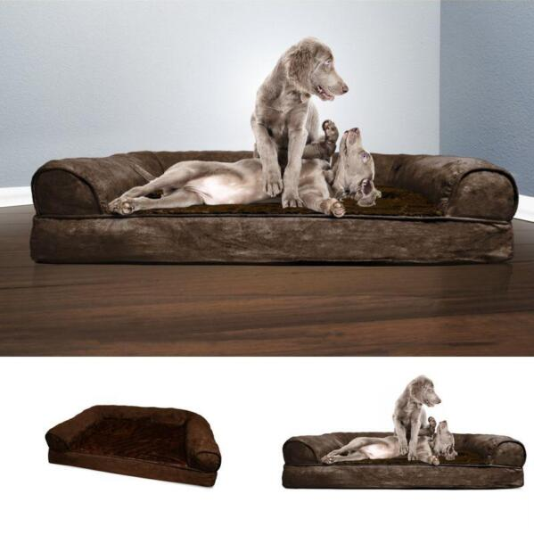 Big Dog Bed Sofa Pet Couch XXXL Great Dane English Mastiff Cushion Puppy Jumbo $64.99