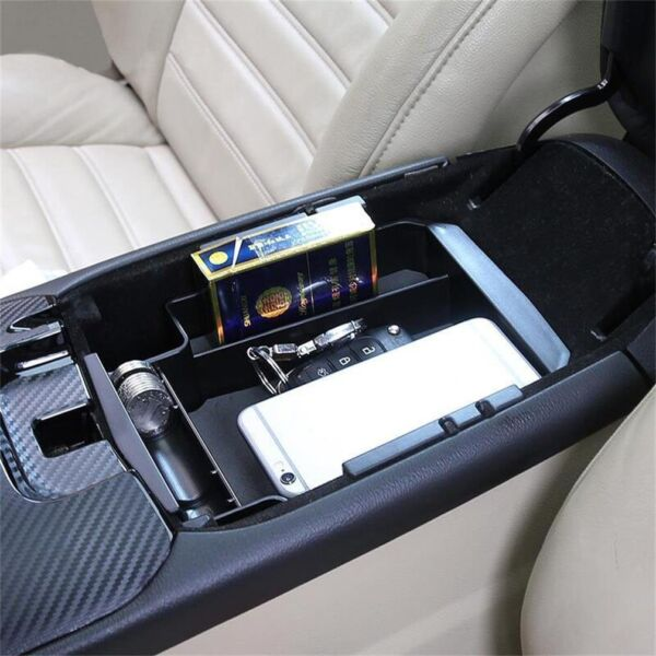 Fit For Ford Fusion 13-2016 Armrest Storage Box Glove Pallet Center Console Tray