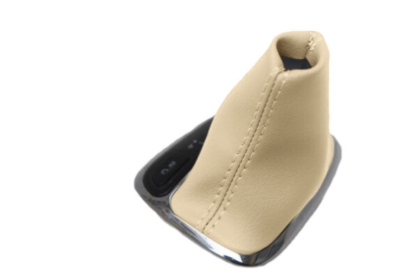 Automatic Boot Leather Synthetic for Mercedes Benz Class C 01-09 Beige