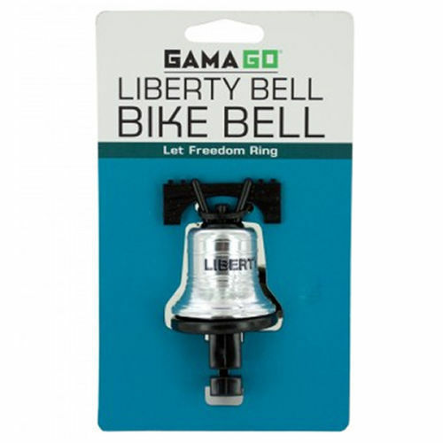 Liberty Bell Bike Bell Bicycle and Cycling Handlebar Accessories New GamaGo $6.80
