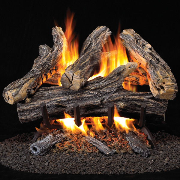 ProCom Vented Natural Gas Fireplace Log Set - 18 in. 35000 BTU Model WAN18N-2