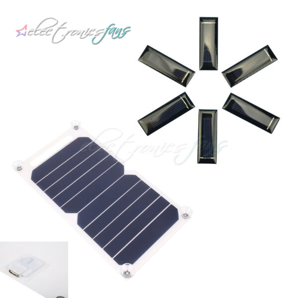 10W 5V Portable Solar Power Panel USB Charger For Samsung IPhone Tablet Pad