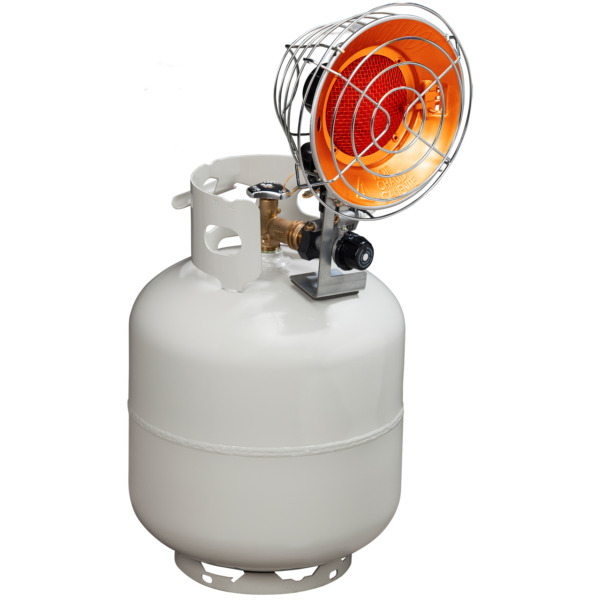 ProCom Tank Top Propane Heater - Single Burner 15000 BTU Model# PCTT15
