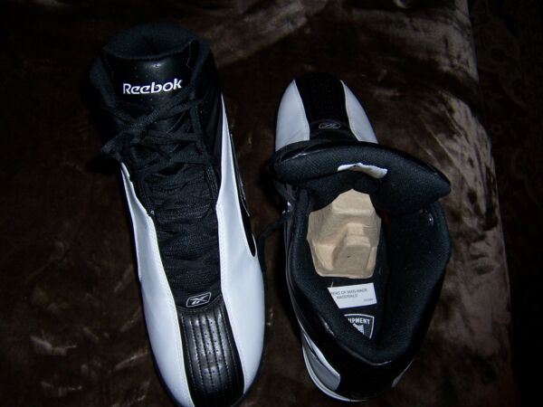 MENS REEBOK NFL EQUIPMENT HIGH TOP SHOE SIZE 15 NEW NEVER WORN NO BOX FOOTBALL