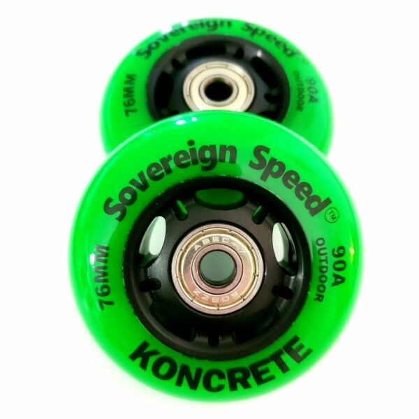 76mm Outdoor Replacement Inline Wheels razor ripstik ripsurf casterboard 2 Pack $19.99