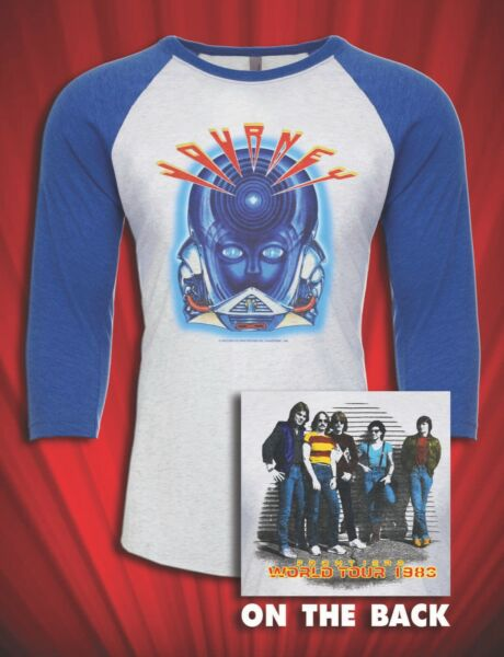 Frontiers 1983 Vintage Tour jersey T SHIRT Separate Ways $29.99