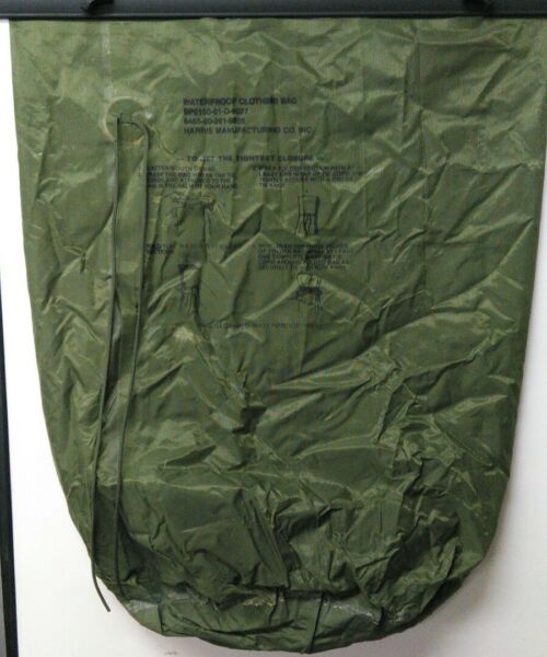 US MILITARY WATERPROOF CLOTHING LAUNDRY WET WEATHER SLEEPING BAG PACK COVER