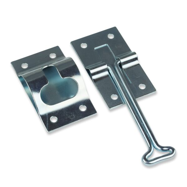 RV Trailer 4quot; T style Entry Door Catch Holder All Metal with Bracket New $5.99