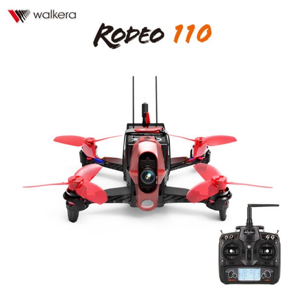 Walkera Rodeo 110 5.8GHz RC Quadcopter FPV Racing Drone w/ 600TVL HD Camera RTF