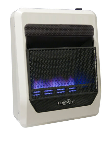 Lost River Vent-less Dual Fuel Blue Flame Gas Space HeaterVent Free - 20000 BTU
