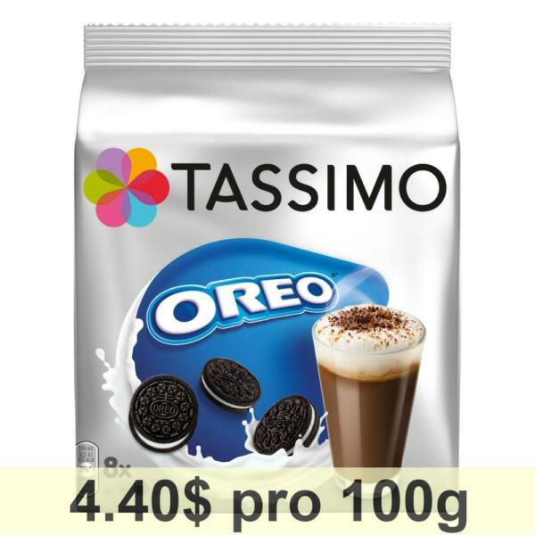 Tassimo Oreo Cocoa 5 Piece Package Hot Chocolate with Cookie Flavour 80 T-Discs