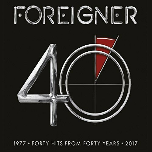 Foreigner - Hits from 40 Years 1977 - 2017  Greatest Hits / Best Of CD Neu