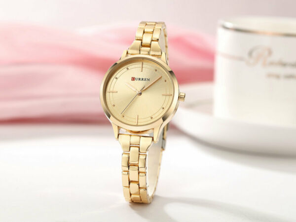 New Women#x27;s Fashion Luxury Quartz Analog Waterproof Stainless Steel Wrist Watch $13.99