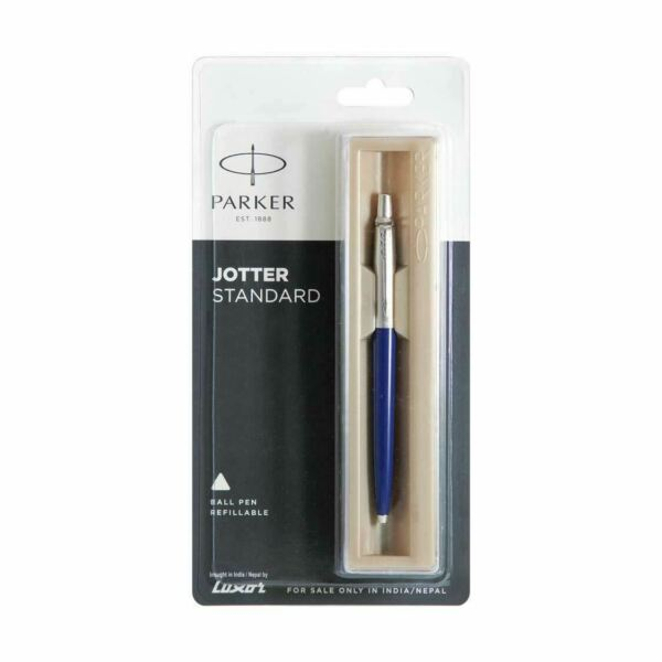 Parker Jotter Standard CT Ball Pen barrel colour redblue