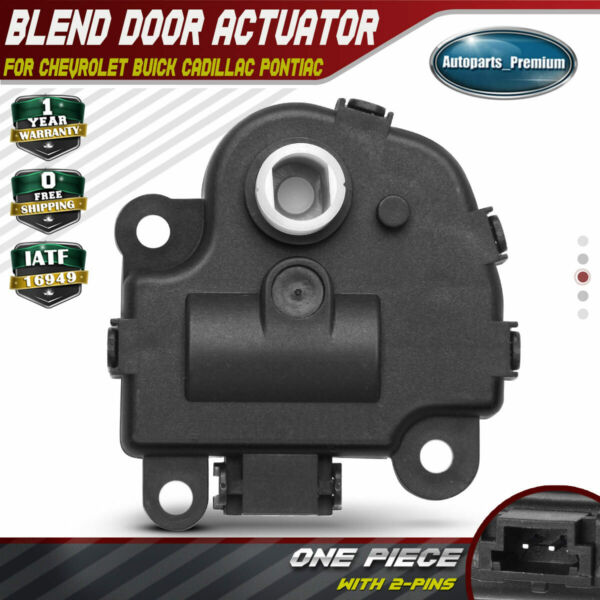 HVAC Heater Air Blend Door Actuator for Chevrolet Impala Corvette Buick 604-108