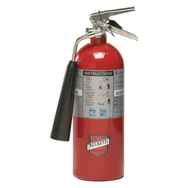 Carbon Dioxide Fire Extinguisher with 5 lb. Capacity and 8 to 10 sec. Discharge $297.55
