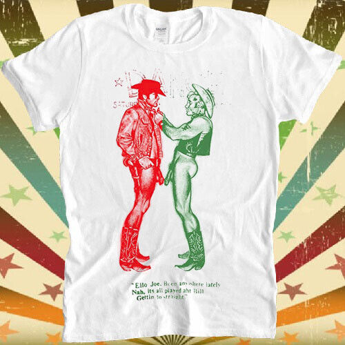 Cowboys Naked Worn By Sid Vicious Gay Retro Vintage Hipster Unisex T Shirt 1151