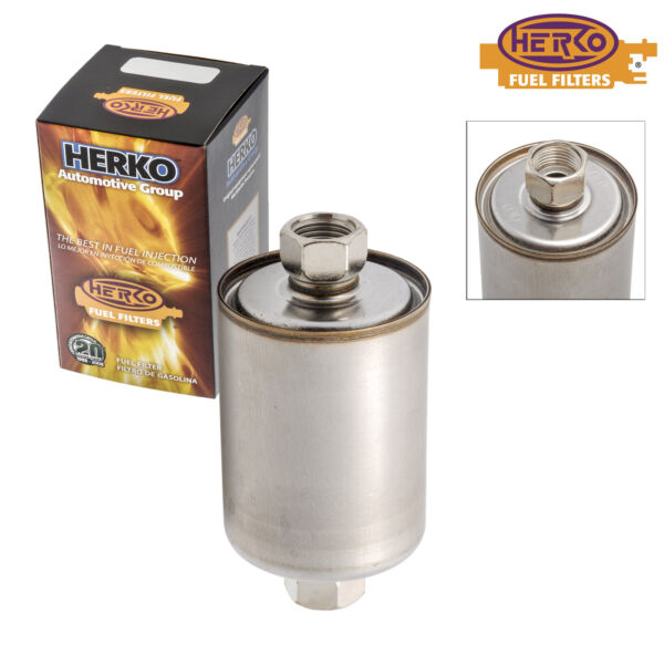 Herko Fuel Filter FGM03 For Chevrolet Pontiac Cadillac Buick 1986-2007