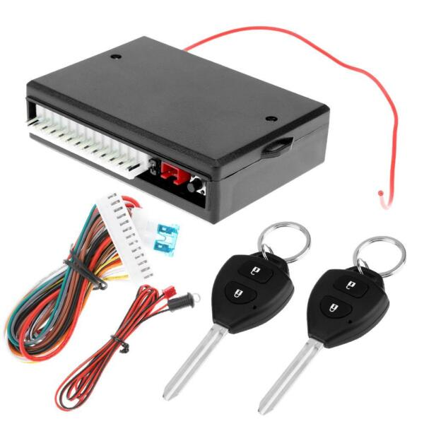 Universal Car Remote Control Central Door Lock Kit Keyless Entry System 405 T402 $14.19