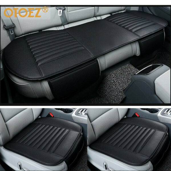 Universal 3D Car Seat Cover Breathable PU Leather Pad Mat for Auto Chair Cushion $44.98