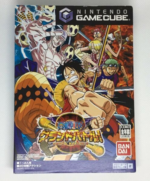 ONE PIECE Grand Battle 3 For Nintendo Japanese GameCube Complete **USA SELLER** $14.99