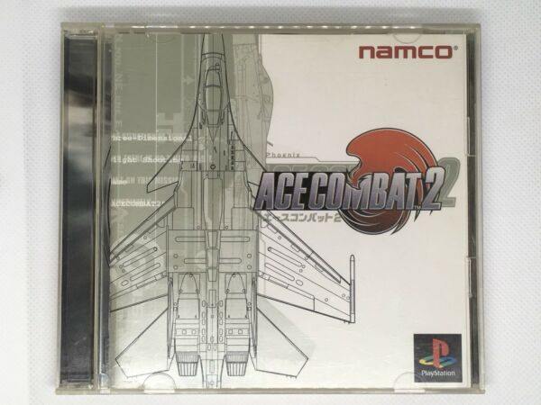 Ace Combat 2 For Japanese PS1 *USA Seller* Japan Import $16.99