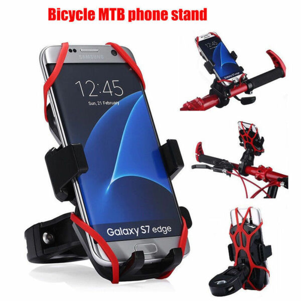 Universal Motorcycle MTB Bicycle Handlebar Bike Mount Holder for Cell Phone GPS $6.77