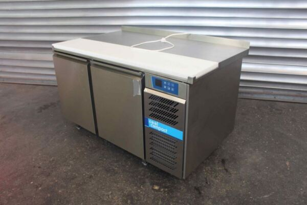Bakery Refrigerated Counter Tabletop Stainless Steel Gastrotisch Kitchen Table