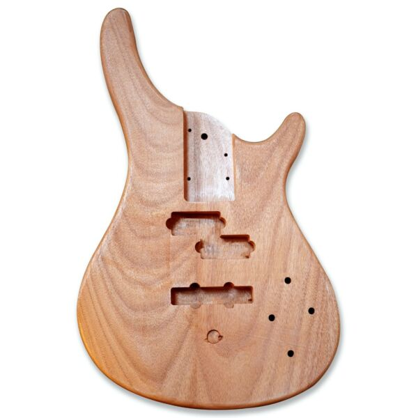 BexGears DIY PJM bass Guitar Body Bass Parts Okoume wood Electric guitar body $44.99