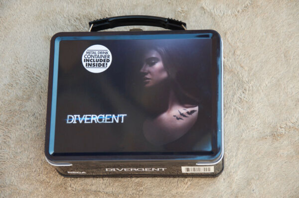 Divergent Series Lunch Box Pail wide mouth soup Thermos NEW