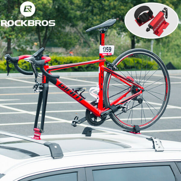 ROCKBROS Bike Car Truck Quick release Alloy Fork lock Roof Mount Rack Carrier $49.99
