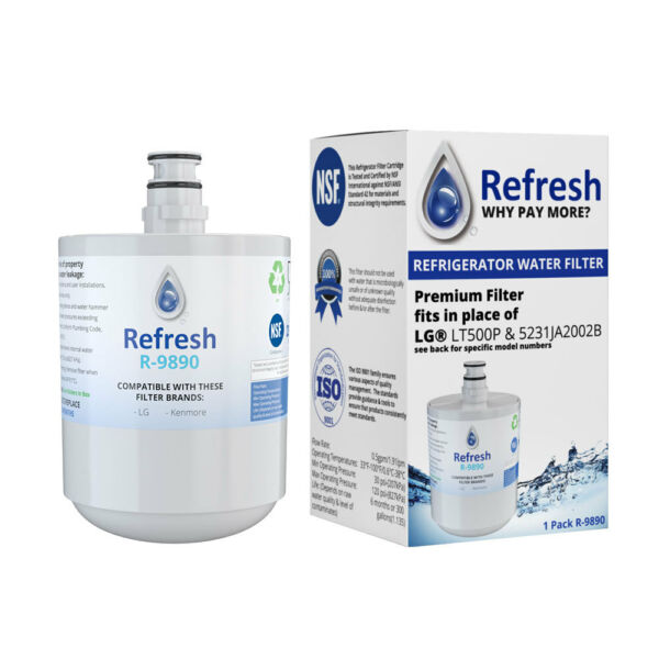 Replacement Water Filter For Kenmore 9890 469890 ADQ72910907 ADQ72910902 $15.99