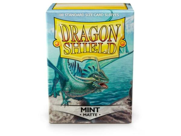 Matte Mint 100 ct Dragon Shield Sleeves Standard Size FREE SHIPPING 10% OFF 2 $9.10
