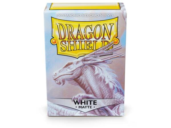 Matte White 100 ct Dragon Shield Sleeves Standard Size FREE SHIPPING 10% OFF 2 $9.10