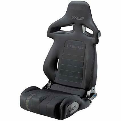 Sparco R333 Series Street Competition Seat in Black 00965NR