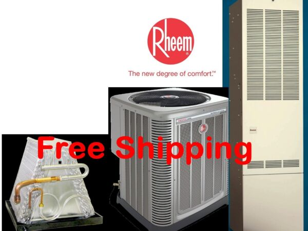 2.5 Ton R 410A 14SEER Mobile Home Gas Heating System Condenser G Furnace Coil $2465.00